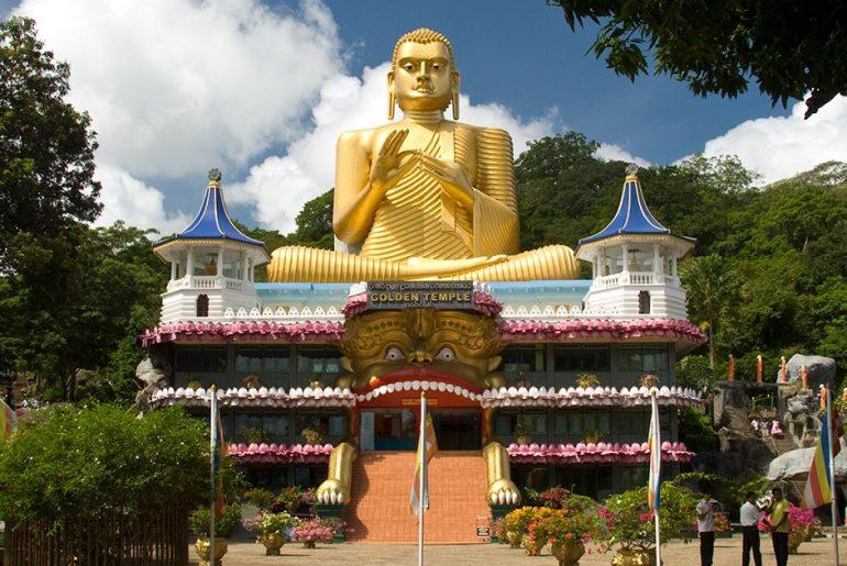 Temple de Dambulla au Sri Lanka